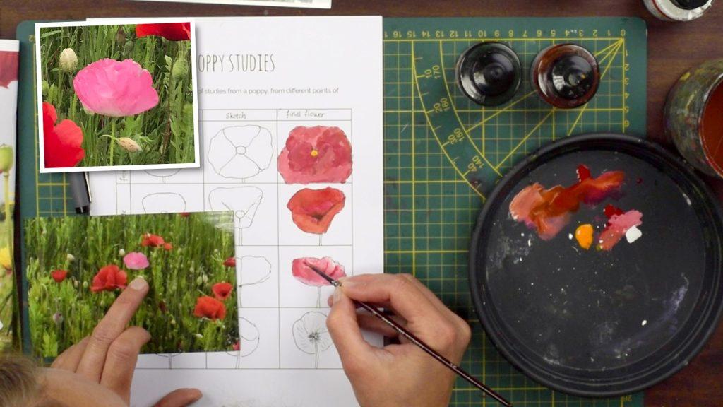 afbeelding bloemenstudie