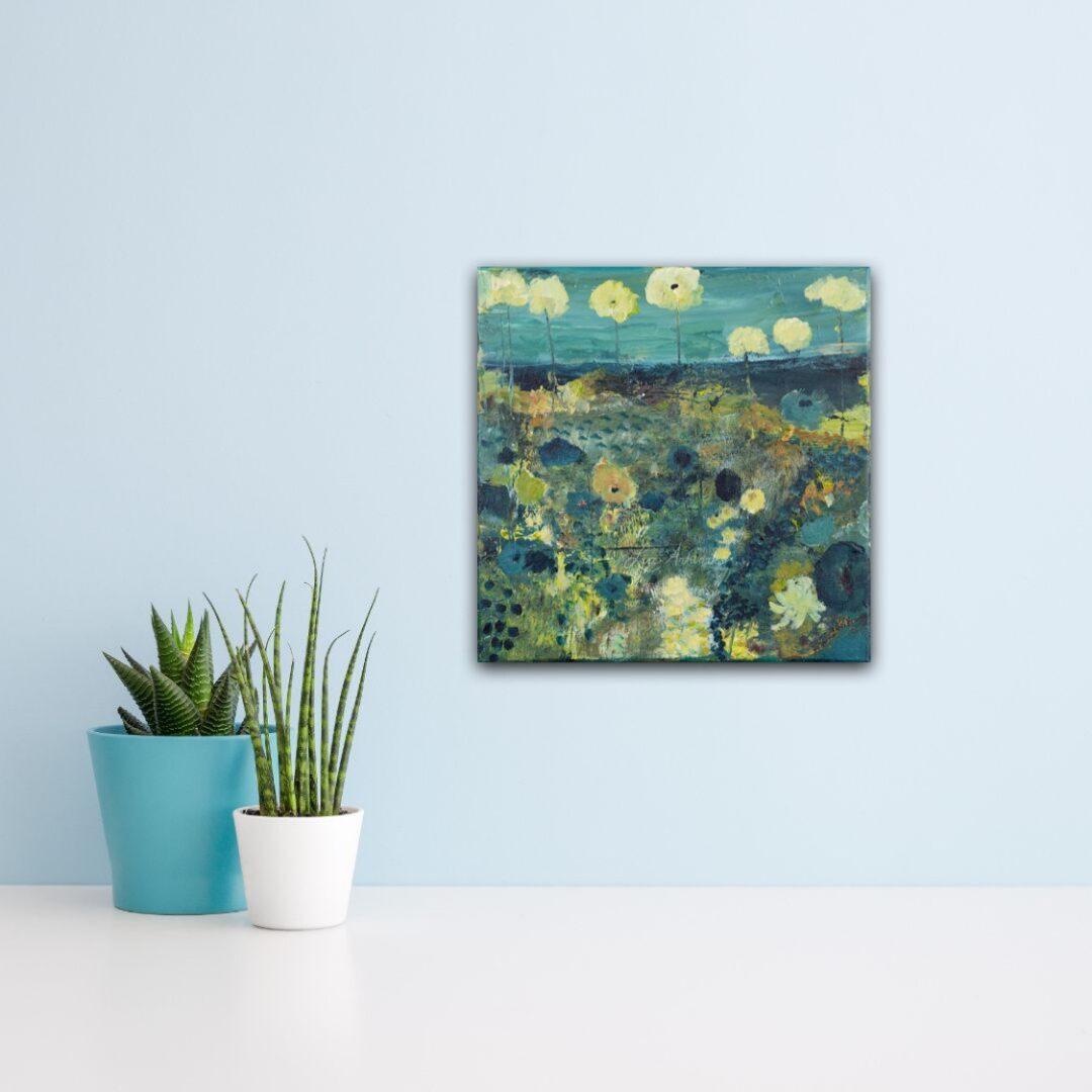 Blauwe lentebloemen door Marloes Bloedjes