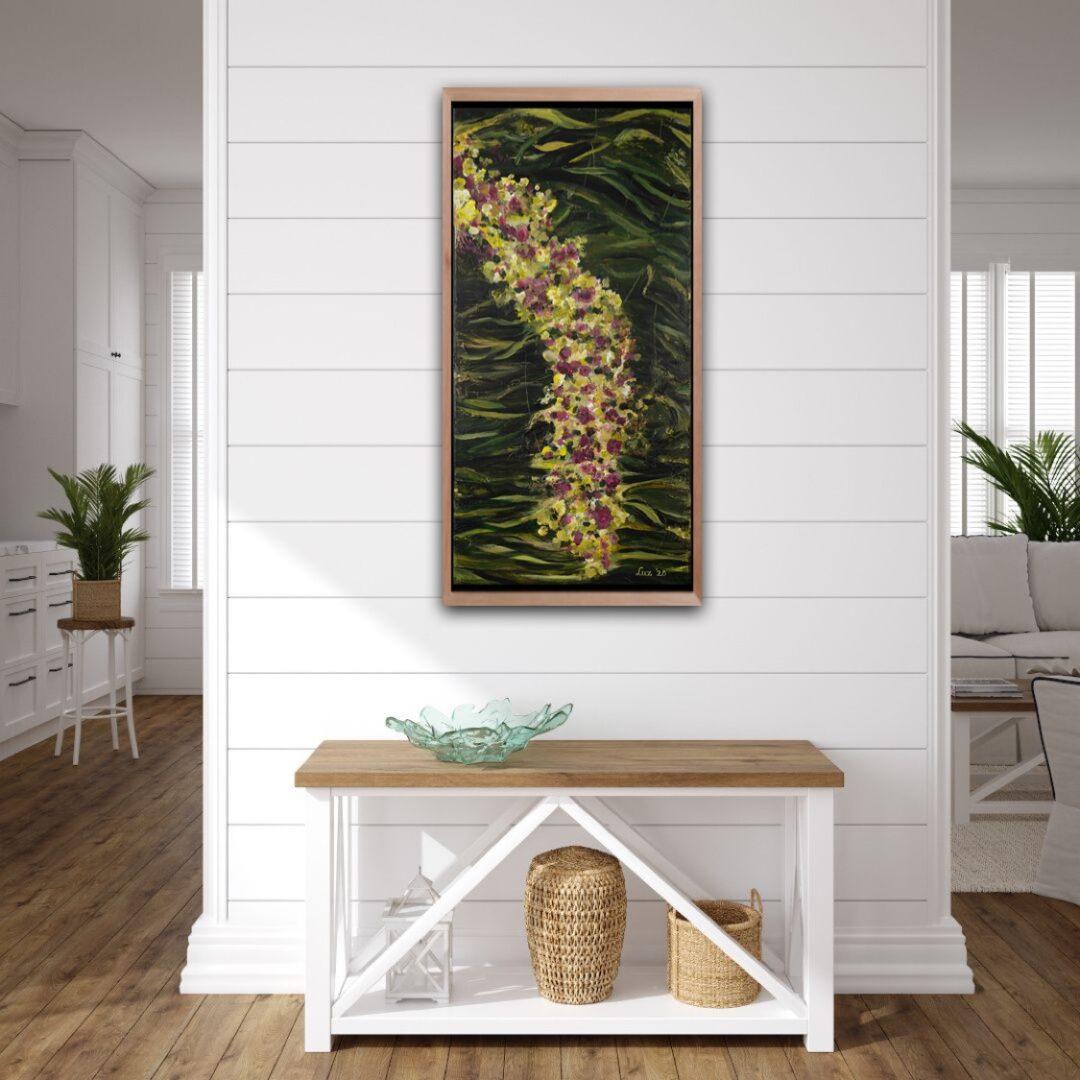 Deze afbeelding toont het schilderij'Droombloesem' door Marloes Bloedjes