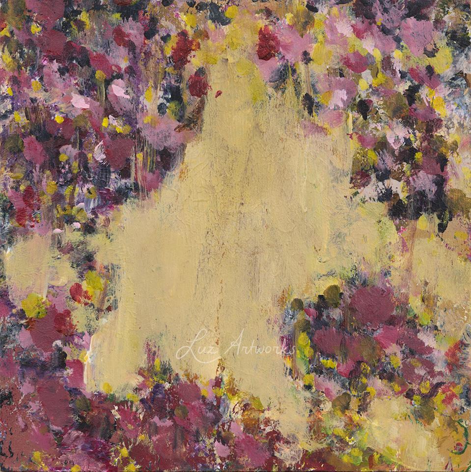 Deze afbeelding toont het werk Bloesems 4 door Marloes Bloedjes.