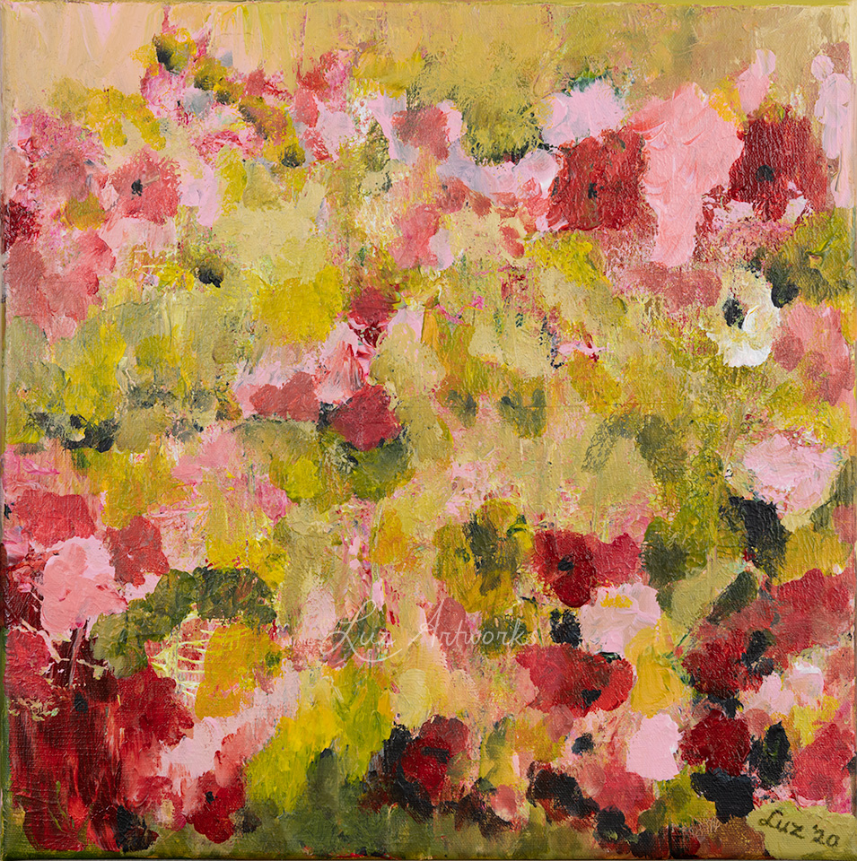 Fresh Pink Flowers door Marloes Bloedjes