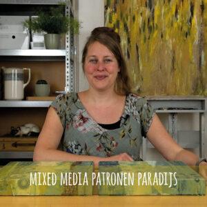 afbeelding online cursus Mixed Media Patronen Paradijs