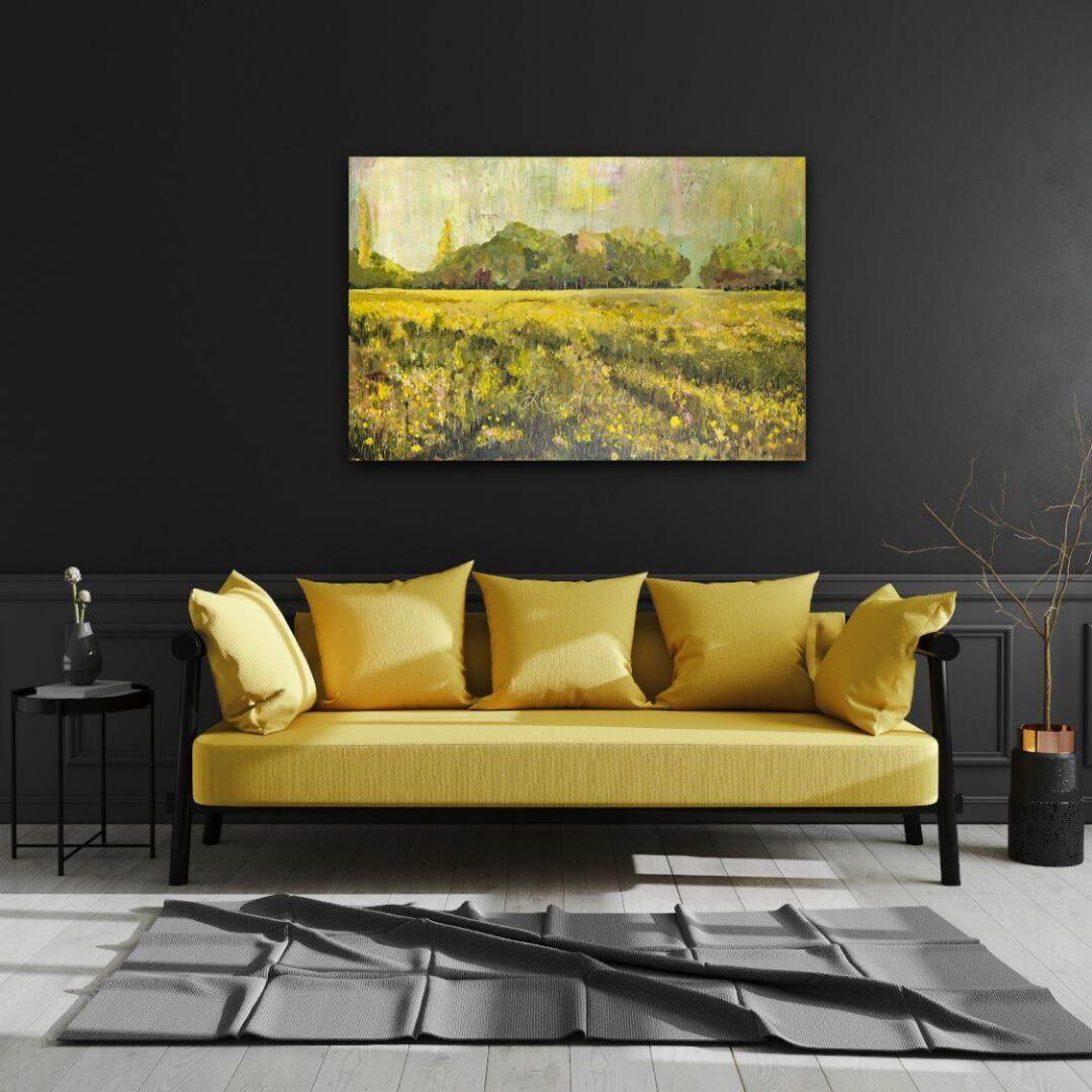 Deze afbeelding toont het schilderij Duinlandschap van Marloes Bloedjes.